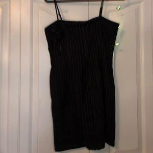Forever 21 Dresses - brand new forever 21 black pinstripe dress